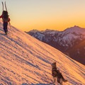 Expect a long day up to Hidden Lake Lookout.- Best Winter Adventure Destinations