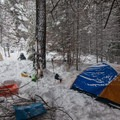 Camp on the south end of Tronsen Meadow on an adventure to Table Mountain + Diamond Head.- Washington's Best Winter Destinations