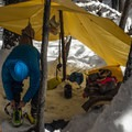 Winter backcountry camp.- Leave No Trace Tips for Winter Adventure