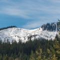 Roaring Ridge from Hyak Sno-Park.- Backcountry Skiing in Washington