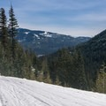 Looking east from Mount Catherine.- Winter Retreat at Snoqualmie Pass