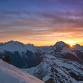 Hiking to meet the sunrise in the North Cascades.- Underrated U.S. National Parks You Must See