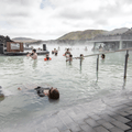 The murky water of the Blue Lagoon.- Must-Visit Hot Springs in Iceland