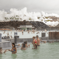 Steam from Svartsengí over the Blue Lagoon.- 14 Must-Do Activities In Iceland