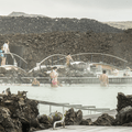 Lava fields border the Blue Lagoon.- 1-Week Adventure Itinerary for Iceland