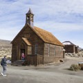 Bodie Ghost Town in Bodie State Historic Park.- Exploring California's Eastern Sierra