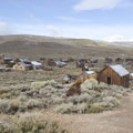 Bodie once hosted 10,000 residents.- Ghost Towns of the West