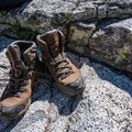 Take time to properly break in a pair of stiff boots before your trip.- A Complete Trail Guide to Happy Feet