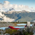 Above Brew Lake. What a nice spot to relax with a good book.- 10 Reasons to Visit Whistler