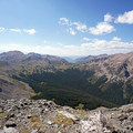 Looking west from the summit of Buffalo Mountain. - Dillon Reservoir's Best Hikes, Rides + Camping