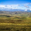Not a bad view of Cotopaxi, for a public bus!- Quilotoa Loop Trek