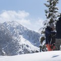 The Mount Olympus Wilderness is a winter wonderland.- Mount Olympus Wilderness