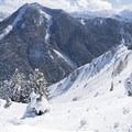 The view of Kessler Peak from Circle-All Peak.- Mount Olympus Wilderness