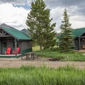 The rental cabins at Dutch Hill Campground.- Dutch Hill Campground