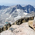 View from the top of Granite Peak.- Climb a Mountain