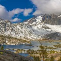 Viewpoint over Garnet Lake.- John Muir Trail (JMT) Overview