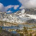 Viewpoint over Garnet Lake.- John Muir Trail (JMT) Overview