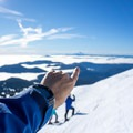 Nothing beats great views up above the trees on Mount Hood, Oregon's tallest mountain.- Casio Pro Trek WSD-F20 Smart Watch