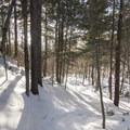 The trail to Castle Rock.- 5 Must-Do Adirondack Snowshoe and Ski Trails