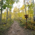 Cathedral Lake Trailhead. - A Complete Guide to Colorado's Maroon Bells