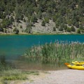 Cave Lake State Park offers a great opportunity to get on the water in motorized or non-motorized watercraft, or just to go for a swim.- Adventuring across Nevada's Highway 50