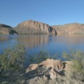 Canyon Lake on the Apache Trail Scenic Byway.- 8 Arizona Hikes You Can't Miss This Spring