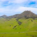 Bishop Peak viewed from Cerro San Luis.- Bishop Peak via Foothill Boulevard