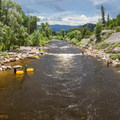 Tubers enjoying the Yampa River.- 12 Great Colorado Swimming Holes