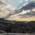 Morning over City of Rocks.- Astounding Rock Formations