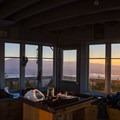 Morning comes beautifully.- Clear Lake Butte Lookout