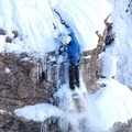 Fresh snow.- Ouray Ice Park