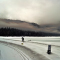Start of the day overlooking Lake Wenatchee.- 10 Beautiful Cross-Country Ski Trails