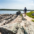 As you're heading home from Portsmouth, stop to enjoy a sunset on the Cliff Walk.- 3-Day Itinerary for Portsmouth, New Hampshire