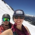 Jen Gurecki and Coalition Snow Creative Director Lauren Bello Okerman celebrate July 4th at Mammoth Mountain. #sisterhoodofshred.- Women In The Wild 2018: A Series of Celebrations + Conversations