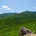 Looking toward Esther and Whiteface Mountains from Cobble Lookout.- Incredible Adirondack Hikes Below 4,000 Feet