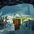 A winter backcountry cabin on Mount Hood.- 12 Months of Adventure: January - Snowventures