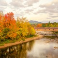 Jay Bridge.- 15 Must-see Fall Foliage Adirondack Adventures