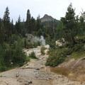 Steam vents dot the landscape around Sulphur Works.- Exploring California's 9 National Parks