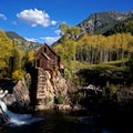 Crystal Mill.- The Uninhabited West: Ghost Towns and Mines