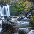Crystal Creek Falls, California.- The West's 100 Best Waterfalls