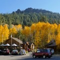 The main entrance to Sorensen's Resort.- A Guide to Fall Adventure in California