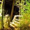The bridge to Sorenson's Sierra House.- A Guide to Fall Adventure in California