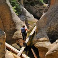 Canyon playground in Arizona.- Intro to Canyoneering: Tips + Gear