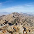 View north from the summit of Deseret Peak.- Climb a Mountain