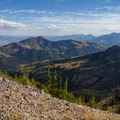 View of American Fork Canyon. - A Weekend in Little Cottonwood Canyon