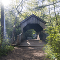 Featuring a covered bridge and a 60-foot waterfall, the Orange Vista Trail in southern Connecticut is the perfect place to practice your fall photography.- Ultimate Leaf-Peeping Road Trip through New England