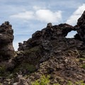 Lava rock formations.- Guide to Iceland's Ring Road
