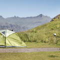 Camp alongside beautiful fjordal scenery.- Dramatic Fjord Formations