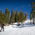 The route to Donner Peak + Mount Judah.- Best Snowshoe Trails in Tahoe's Backcountry