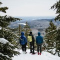 Discover amazing winter views from Doublehead Mountain in Jackson, New Hampshire.- 3 Idyllic New England Towns for a Winter Retreat